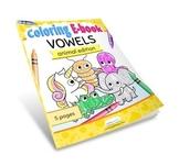 AEIOU Vowels Coloring Ebook Animal Edition by CraftyPammy
