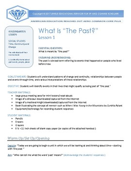AERO Time, Continuity, and Change Kindergarten Social Studies Unit