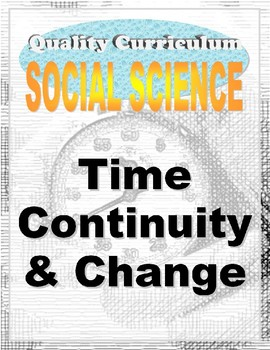 AERO Time, Continuity, and Change Kindergarten Social Studies Unit