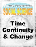 AERO Time, Continuity, and Change Kindergarten Social Stud