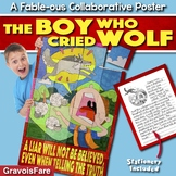AESOP'S FABLES ACTIVITY: The Boy Who Cried Wolf — Collaborative Poster