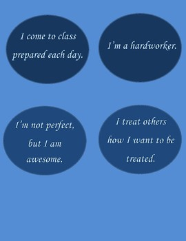 AFFIRMATIONS FOR STUDENTS