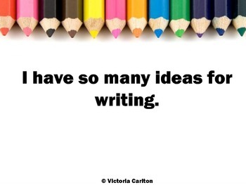 AFFIRMATIONS FOR WRITING