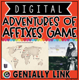 AFFIXES DIGITAL GAME for 4TH & 5TH GRADE