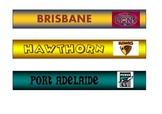 AFL Footy Ladder