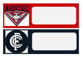 Editable AFL Labels
