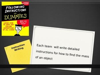 AFL: Writing Instructions