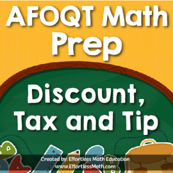 AFOQT Math Prep: Discount, Tax and Tip