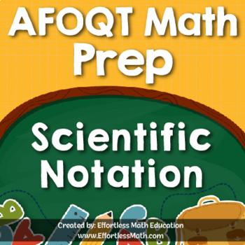 AFOQT Math Prep: Scientific Notation