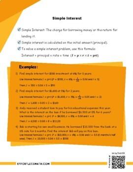 AFOQT Math Prep: Simple Interest