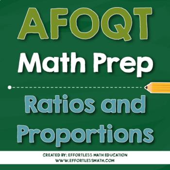 AFOQT Math Preparation: Ratios and Proportions