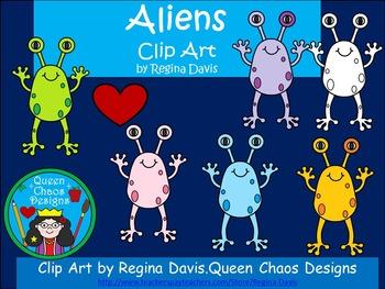A+ Clip Art: Aliens