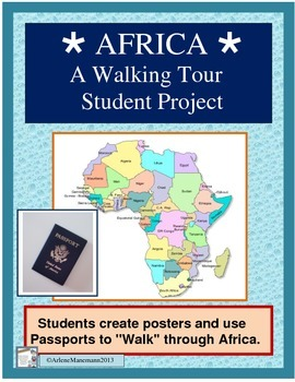 AFRICA - Countries Poster Project