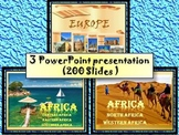 Africa - Countries - Egypt - South Africa - Most beautiful cities in Europe