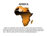 AFRICA (GR 4-5)