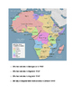 AFRICA maps,graphs, and charts stations