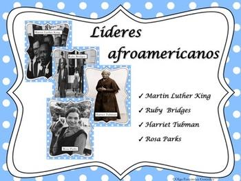 AFRICAN AMERICAN LEADERS SPANISH (KING, PARKS, BRIDGES, AN
