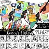 AFRICAN AMERICAN WOMEN'S HISTORY, BIOGRAPHY RESEARCH, MAKE