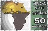 AFRICAN CAPITALS MATCH UP TEST