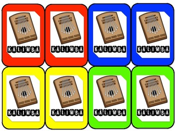 AFRICAN INSTRUMENTS: AN UNO-INSPIRED MUSIC GAME