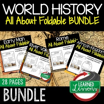 AFRICAN KINGDOMS Activity, All About Foldable (Interactive Notebook)