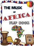 AFRICAN MUSIC - FLIP BOOK