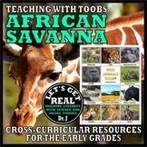 Teaching with TOOBS: AFRICAN SAVANNA