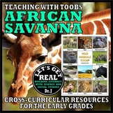 Teaching with TOOBS: AFRICAN SAVANNA