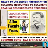 AFTER TWENTY YEARS BY O HENRY: POWERPOINT PRESENTATION - 5 SESSIONS