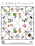 AG & AT - Rhyming Word Pictures - Cootie Catcher Fortune T