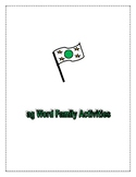 AG WORD FAMILY ACTIVITIES