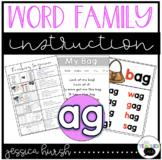 AG Word Family Instruction