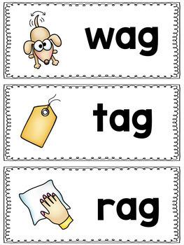 AG Word Family Mini Packet