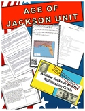 AGE OF JACKSON UNIT - 5 lessons/activities and test with KEYS