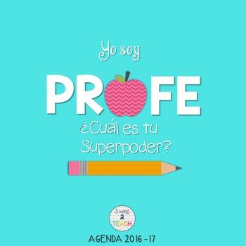 AGENDA 2016-17 - SPANISH TEACHER PLANNER