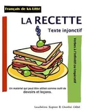 AH LE FRANÇAIS: Tout sur la RECETTE, texte injonctif