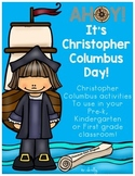AHOY! It's Christopher Columbus Day! Math and Literacy Worksheets