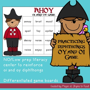 Diphthongs oi/oy Game