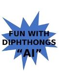AI Diphthong Flashcards