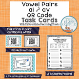 AI and AY QR Code Task Cards