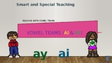 AI and AY Vowel Teams Power point and Google slides presentation