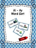 AI and AY Word Sort