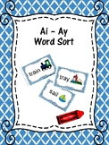 AI and AY Word Sort