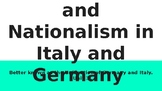 AICE/AP European History: Liberalism & Nationalism in Italy and Germany