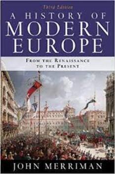 AICE (AP) John Merriman History of Modern Europe Full Course,  Quarter 1