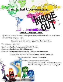 AICE English Language Paper 4 Review