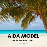AIDA Approach in Sales Messages Resort Project