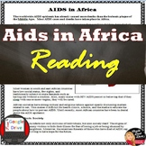 AIDS in Africa READING and Review Questions | Print and Digital | Key