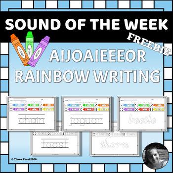 AIJOAIEEEOR Rainbow Writing Pages --Sampler