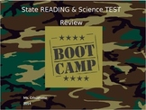 Exciting Bootcamp Reading & Science Review for state testing